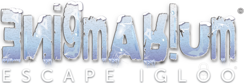 Escape Igloo Enigmarium Retina Logo